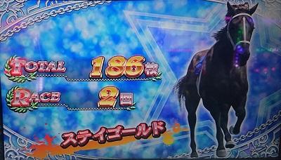 G1ダービー倶楽部2結果186枚